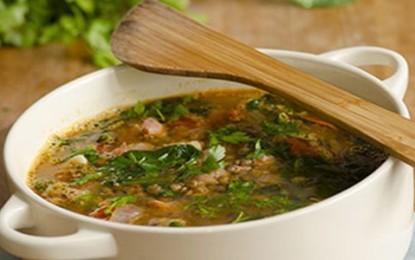 Rýchla proteínová polievka