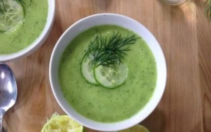 Čistiaca uhorková polievka (studená)