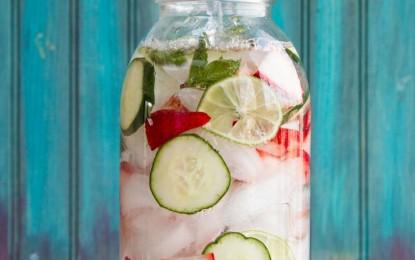 4 detox potraviny, ktoré pridať do vody