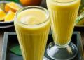 Pomarančovo-ananásový smoothie